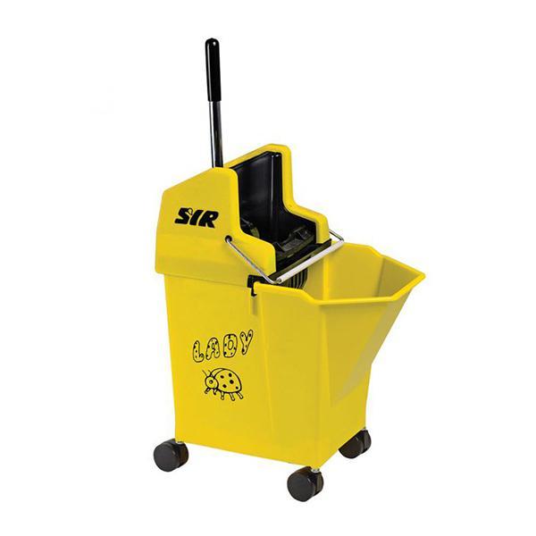 Lady-Combo-Bucket---Wringer-Yellow