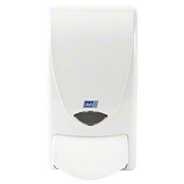 Deb-Standard-White-Push-Button-1Lt-Dispenser