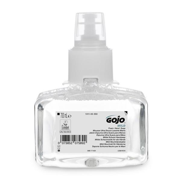 GOJO-Mild-Foam-Hand-Wash-F-Free-1311--LTX-7