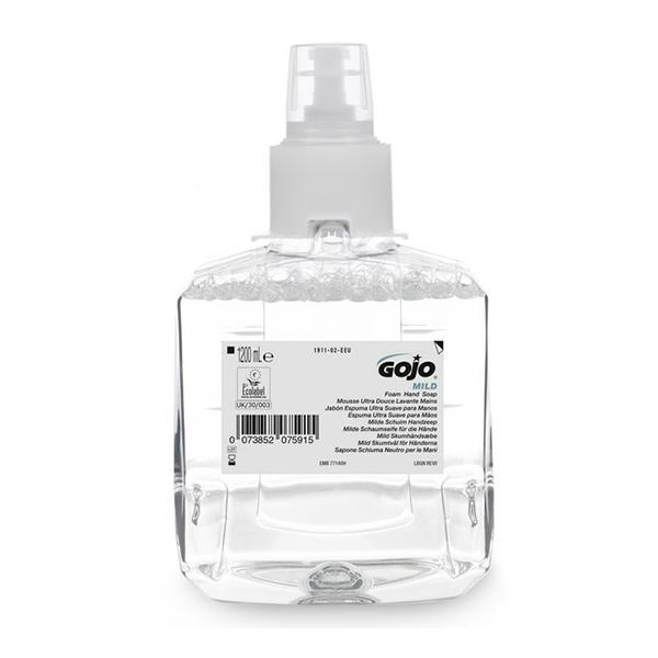 GOJO-Mild-Foam-Hand-Wash-F-Free-1911--LTX-12