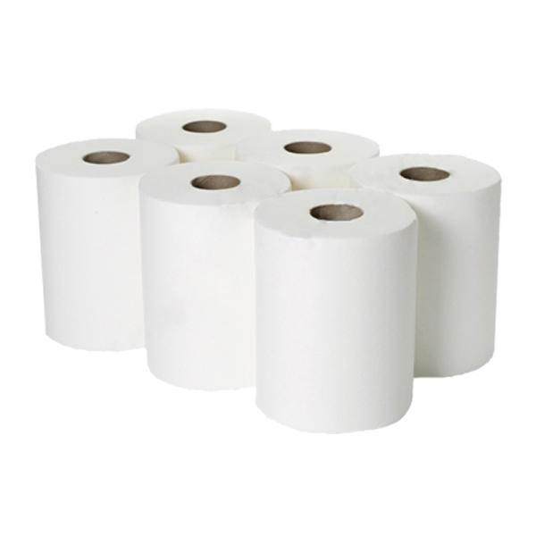 1ply-White-Roll-Towel-150M-x-200mm-x-45mm