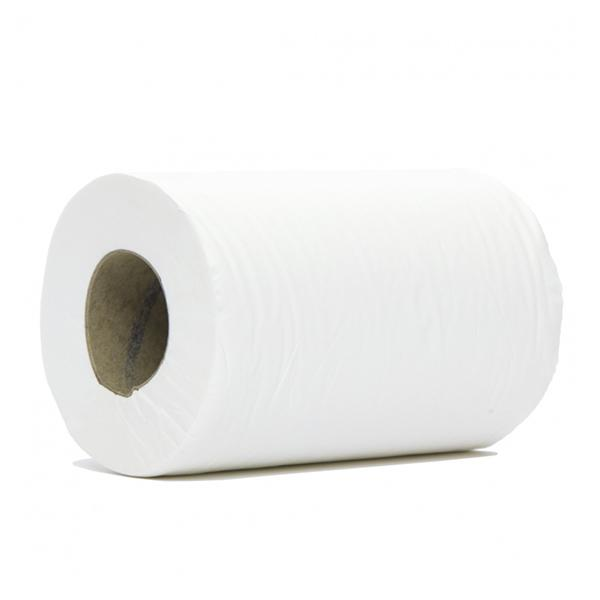 Mini-Centrefeed-White-1-Ply-Towel-Rolls---120M-x-195mm-x-60mm