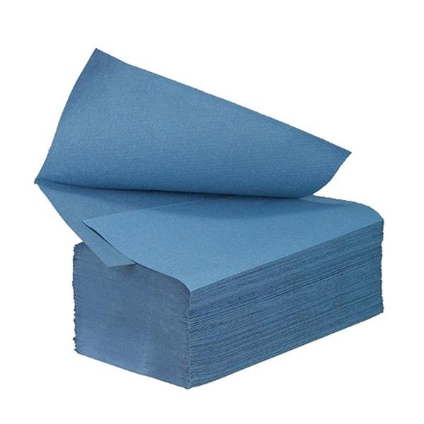 Blue-Interfold-Hand-Towels-1ply-21-x-25cm