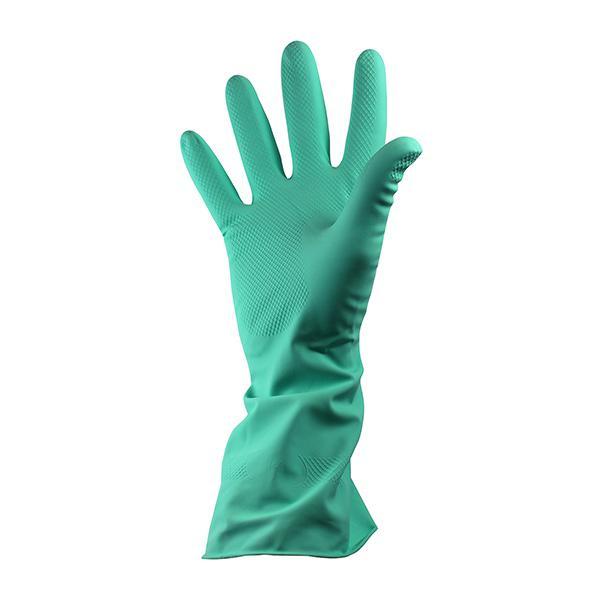 Rubber-Household-Gloves-Medium---Green