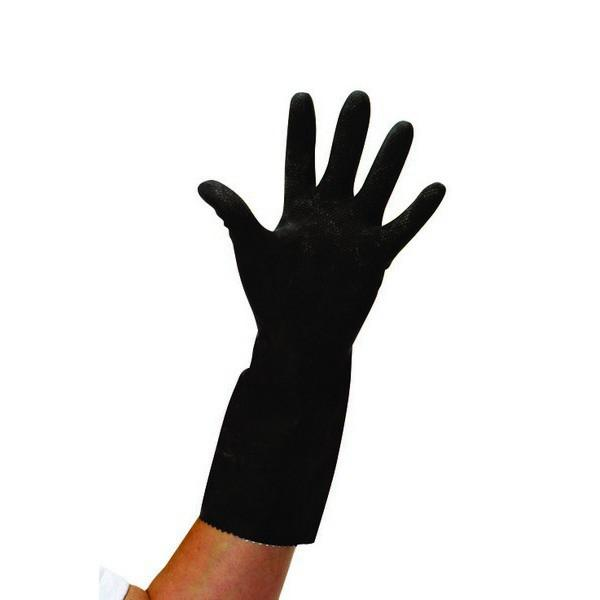 SMALL-Thick-Black-Rubber-Gloves