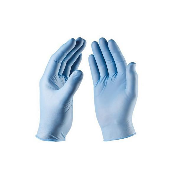 Nitrile-Blue-Non-Powdered-Gloves-Medium-EN455-Parts-1--2--3---4---AQL-1.5