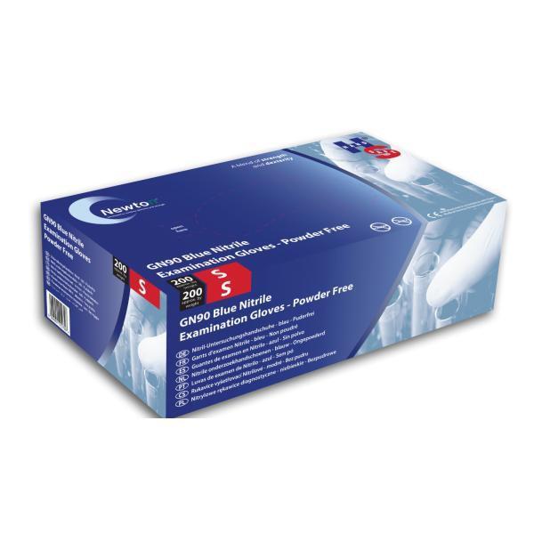 Nitrile-Blue-Non-Powdered-Gloves-XSmall-EN455-Parts-1--2--3---4---AQL-1.5
