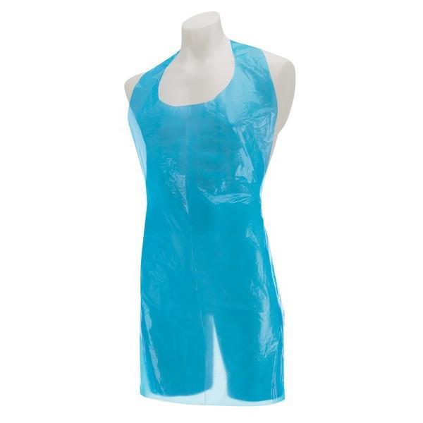 Polythene-Aprons-FLAT-PACK---Blue--Disp-