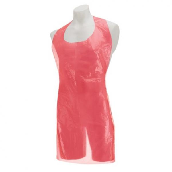 Polythene-Aprons-FLAT-PACK---Red--Disp-