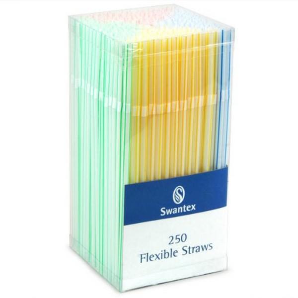 8--Coloured-Flexi-Straws
