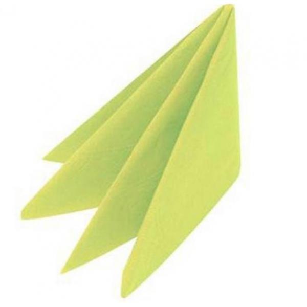 33cm-Napkins---2ply---Lime-Zest