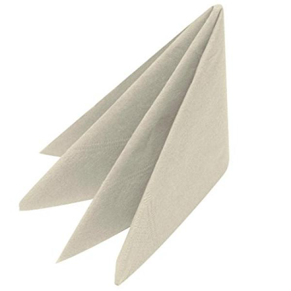 40cm-Napkins---2ply---Devon-Cream