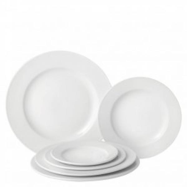 Pure-White-Wide-Rimmed-10--Plate--25.4cm-
