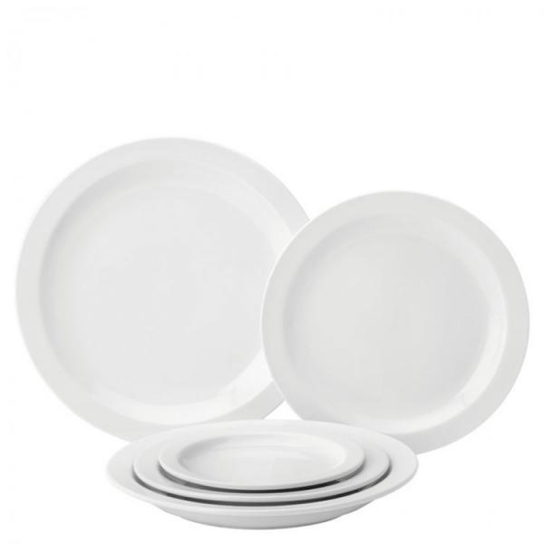 Pure-White-Narrow-Rimmed-8---Plate--20cm-