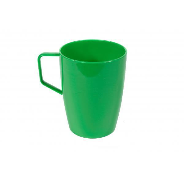 Polycarbonate-Beaker-with-Handle---Green