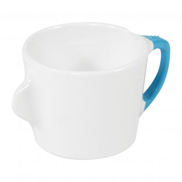 Omni-White-Cup-with-Blue-Handle-200ml-130x90x70mm