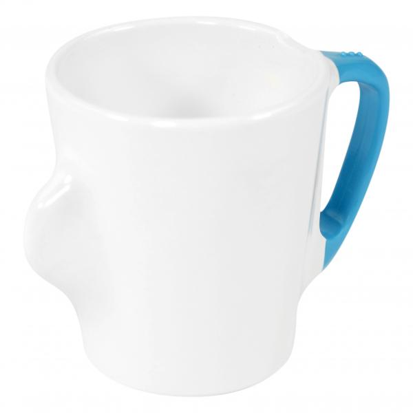 Omni-White-Mug-with-Blue-Handle-300ml-130x90x100mm