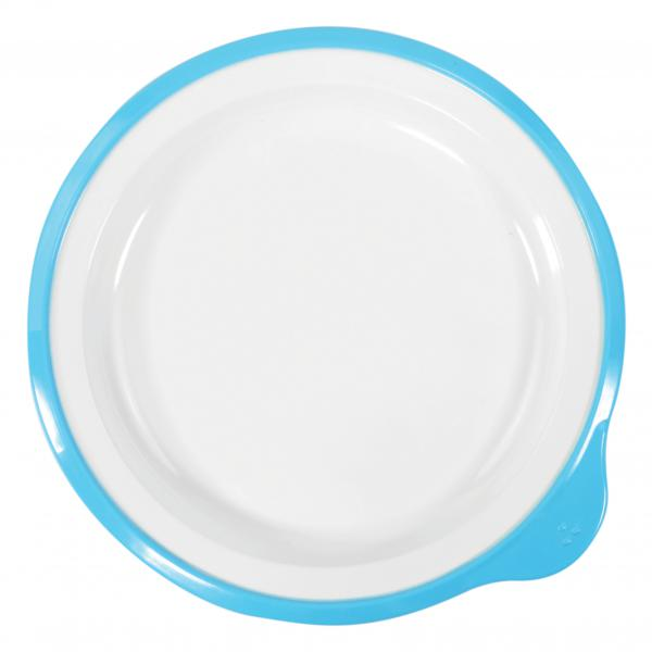 Omni-White-Small-Low-Plate-w--Blue-Rim-180x170x20mm
