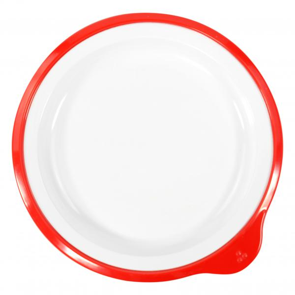 Omni-White-Small-Low-Plate-w--Red-Rim-180x170x20mm