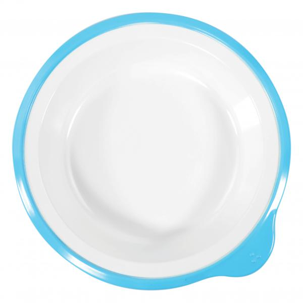 Omni-White-Small-Deep-Plate-w-Blue-Rim-180x170x35mm