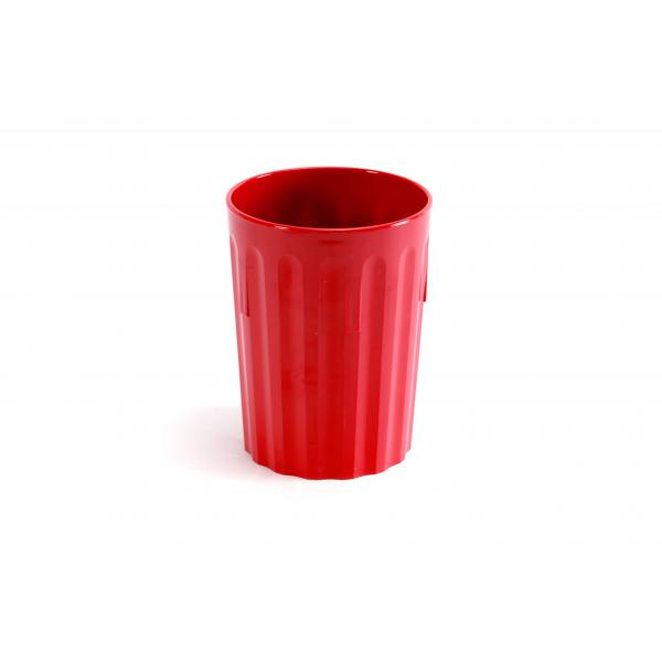 Polycarbonate-Tumbler-8oz--22cl---RED