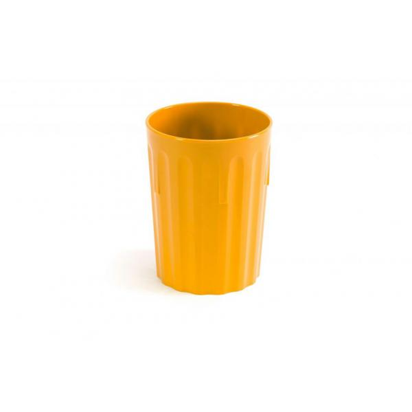 Polycarbonate-Tumbler-8oz--22cl---YELLOW
