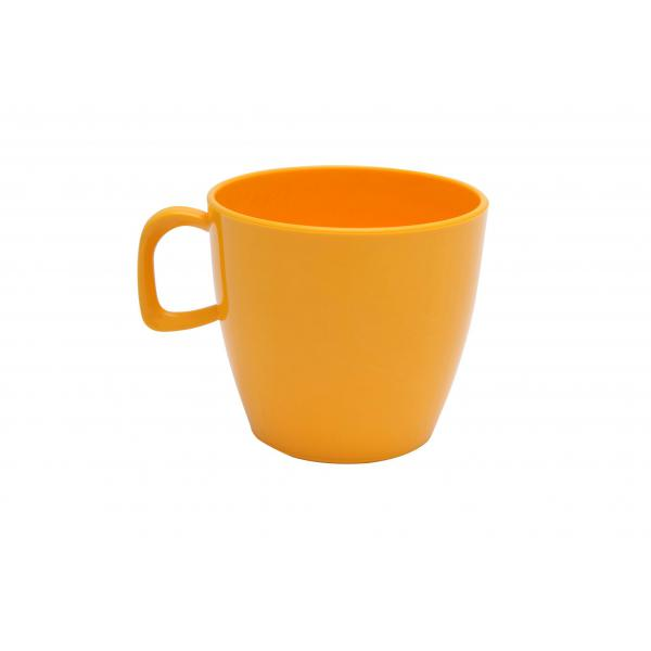 Polycarbonate-Handled-Tea-Cup---Yellow