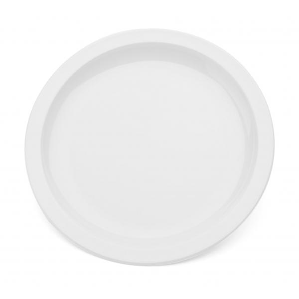 9--Polycarbonate-Rimmed-Plate---White
